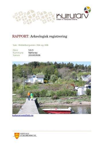 Her finner du rapporten - Kulturarv