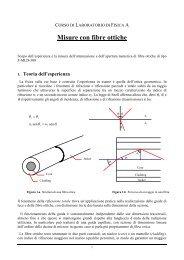 Misure con fibre ottiche