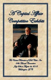 Competitive Exhibit Booklet - United Federation of Doll Clubs