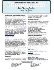 Winter Newsletter 2013 – Region 1 - United Federation of Doll Clubs