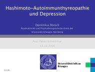 Hashimoto Thyreoiditis und Depressionen