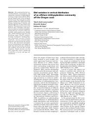 Diel variation in vertical distribution of an offshore ichthyoplankton ...
