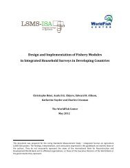 Design and Implementation of Fishery Modules in Integrated ...