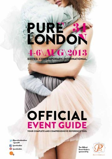 Pure 34 London Official Event Guide
