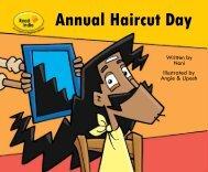 Annual Haircut Day