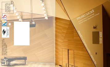 Brochure (Legal) (Reduced) - Department of Music - UC San Diego