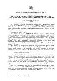 komeksimas - LR Konkurencijos taryba