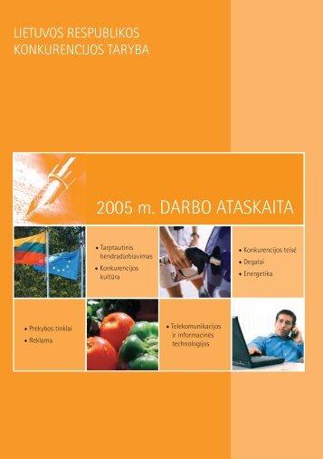 Ataskait_LT internetui.indd - LR Konkurencijos taryba