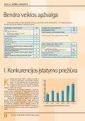 Ataskait_LT internetui.indd - LR Konkurencijos taryba - Page 7
