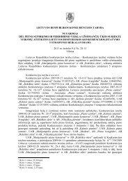 lietuvos respublikos konkurencijos taryba nutarimas dėl pieno ...