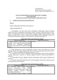 lietuvos respublikos konkurencijos tarybos 2013 - LR Konkurencijos ...