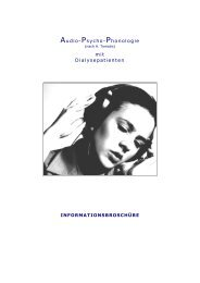 Audio-Psycho-Phonologie mit Dialysepatienten - a-p-p.ch
