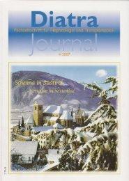 Diatra-Journal: Fachzeitschrift für Nephrologie und ... - a-p-p.ch