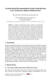 Location-Based Recommendation System Using Bayesian User's ...