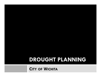DROUGHT PLANNING