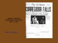 manila tribune headlines the event may 6, 1942 - Philippine ...