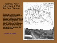Part 8 Final Offensive by Japan and American - Philippine ...