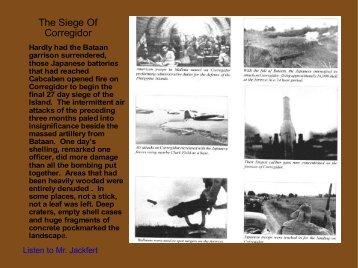 Part 10 Seige and Surrender of Corregidor - Philippine Defenders ...