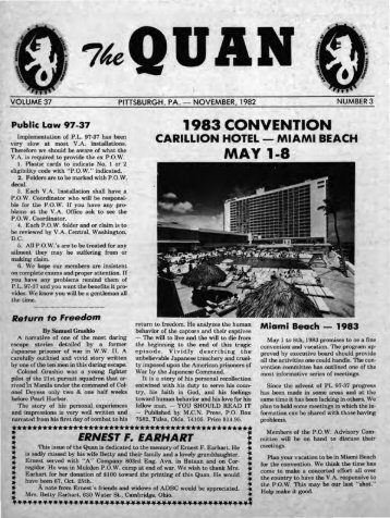 1983 CONVENTION MAY 1-8 - Philippine Defenders Main