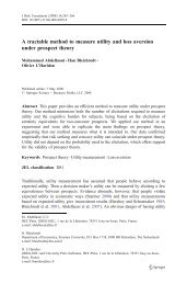 A tractable method to measure utility and loss aversion under ...