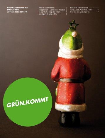 1012-Gruenkommt-Web - Bündnis 90/Die Grünen im Landtag NRW