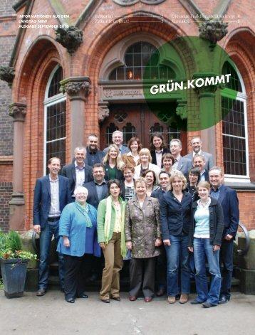 1008-Gruen Kommt - Bündnis 90/Die Grünen im Landtag NRW