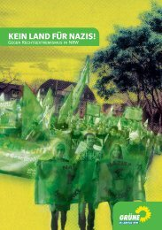 Weitere Infos auch in unserer Broschüre (pdf) - Bündnis 90/Die ...