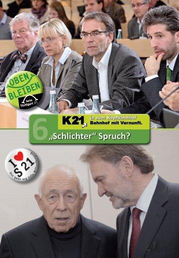 """6.""""Schlichter"""" Spruch?"""