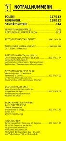 Infomerkblatt Brügg / Studen / Aegerten - Seite 2