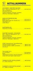 Infomerkblatt Brügg / Studen / Aegerten - Seite 3