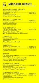 Infomerkblatt Brügg / Studen / Aegerten - Seite 6