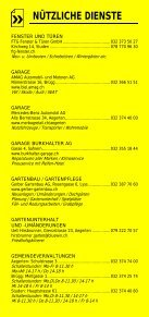 Infomerkblatt Brügg / Studen / Aegerten - Seite 7