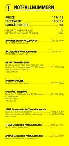 Infomerkblatt Münsingen und Umgebung - Seite 2