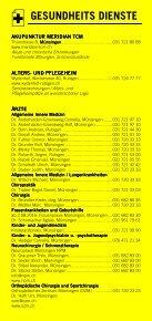 Infomerkblatt Münsingen und Umgebung - Seite 3