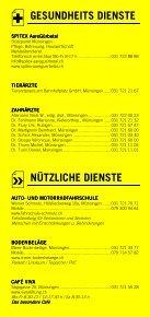 Infomerkblatt Münsingen und Umgebung - Seite 6