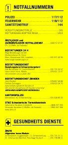 Infomerkblatt Schwarzenburg und Umgebung - Seite 2