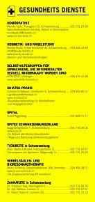 Infomerkblatt Schwarzenburg und Umgebung - Seite 4