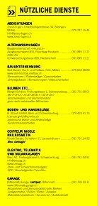 Infomerkblatt Schwarzenburg und Umgebung - Seite 5