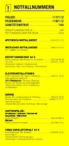 Infomerkblatt Hindelbank und Umgebung - Seite 2