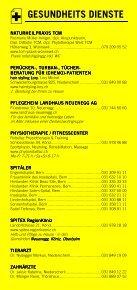 Infomerkblatt Niederwangen / Oberwangen und Umgebung - Seite 4