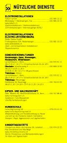 Infomerkblatt Niederwangen / Oberwangen und Umgebung - Seite 6