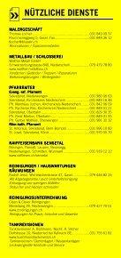 Infomerkblatt Niederwangen / Oberwangen und Umgebung - Seite 7