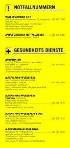 Infomerkblatt Herzogenbuchsee und Umgebung - Seite 3