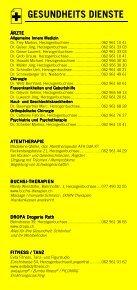 Infomerkblatt Herzogenbuchsee und Umgebung - Seite 4