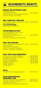 Infomerkblatt Herzogenbuchsee und Umgebung - Seite 6