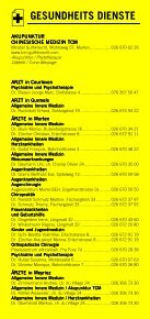 Infomerkblatt Murten und südöstliche Umgebung - Seite 3