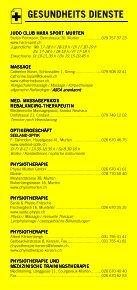 Infomerkblatt Murten und südöstliche Umgebung - Seite 5