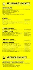 Infomerkblatt Murten und südöstliche Umgebung - Seite 6