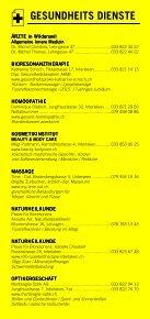 Infomerkblatt Interlaken und Umgebung - Seite 6