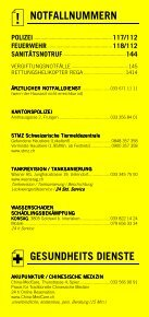Infomerkblatt Frutigen und Umgebung - Seite 2